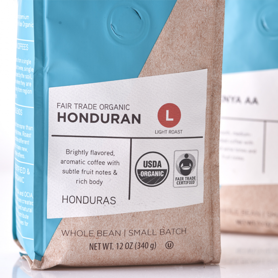 The Fresh Market Specialty Coffee Packaging Design