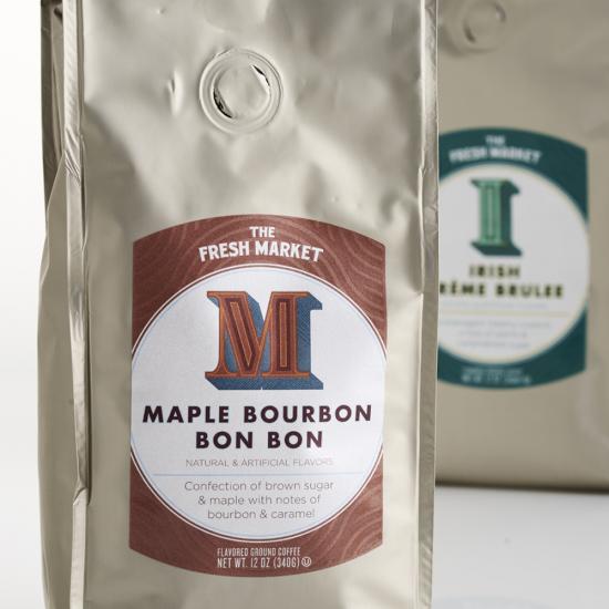 The Fresh Market Dessert Coffee Packaging Design