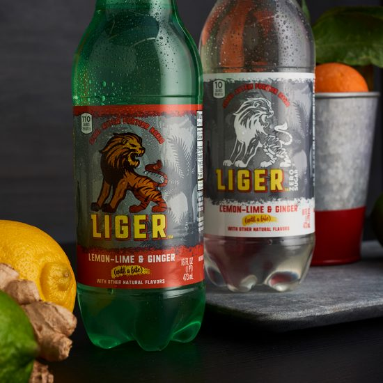 Liger Beverage Packaging