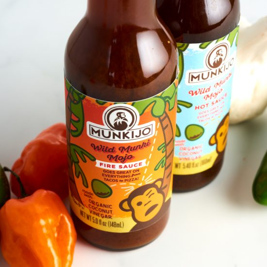 munkijo hot sauce packaging