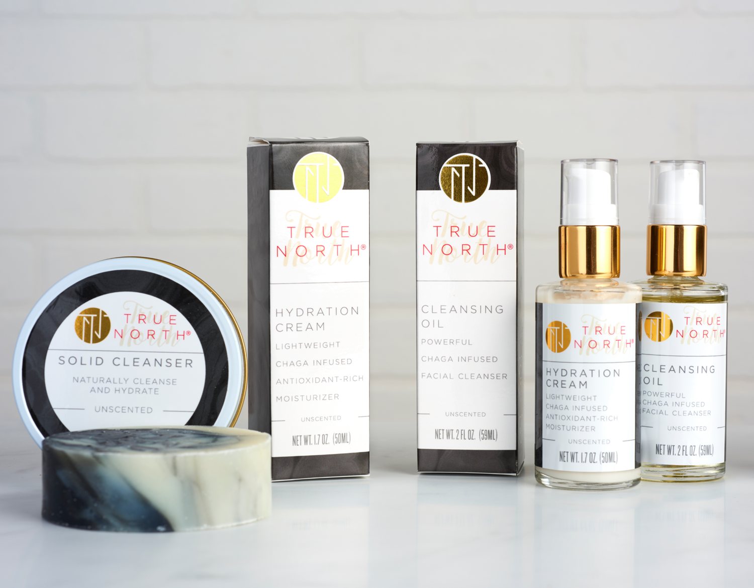 True North Packaging Design UnScented Collection