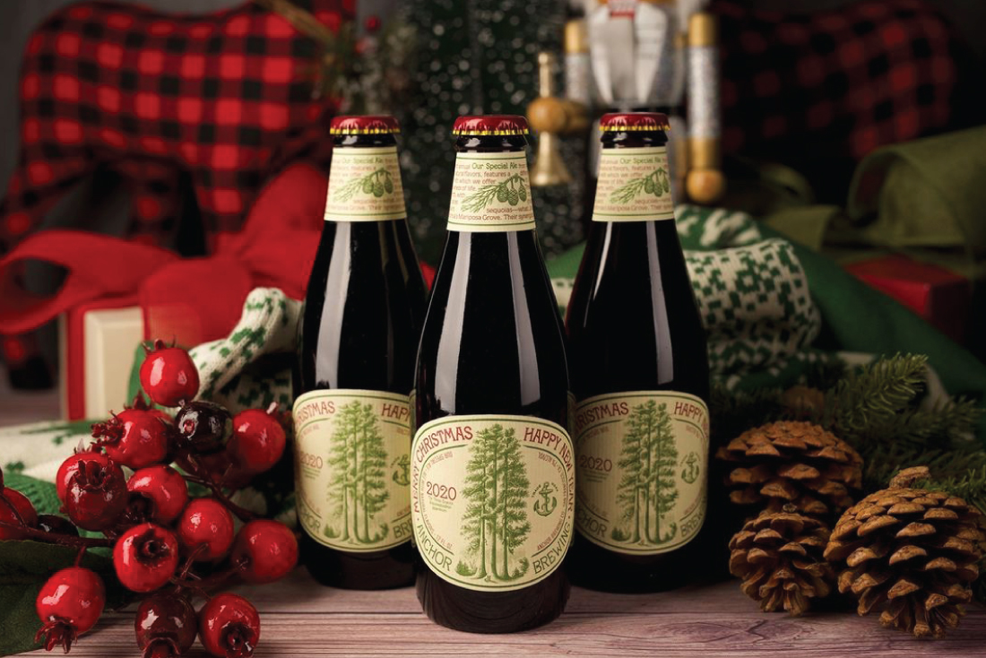 Anchor Brewing Holiday Packaging
