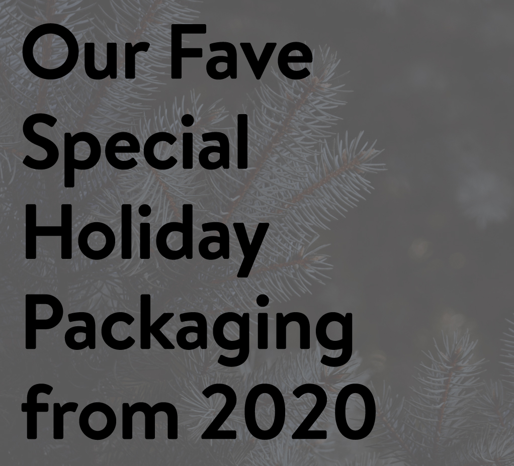Our Face Special Holiday Packaging from 2020