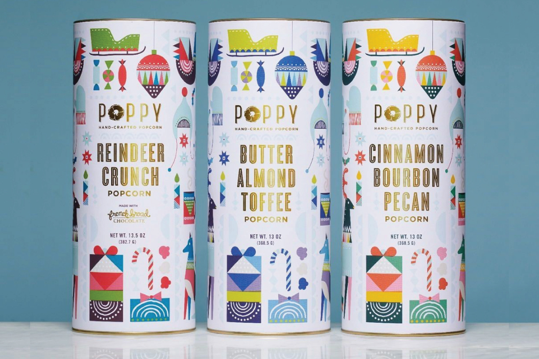 Poppy Holiday Packaging