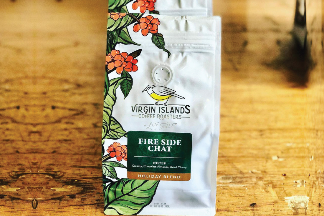Virgin Islands Coffee Roasters Holiday Packaging